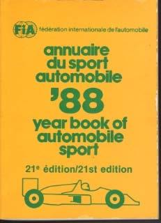 Annuaire du sport automobile / Yearbook of Automobile Sport'88