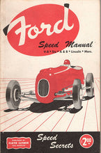Laden Sie das Bild in den Galerie-Viewer, Ford Speed Manual