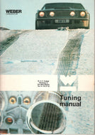 Weber Carburettor Tuning Manual
