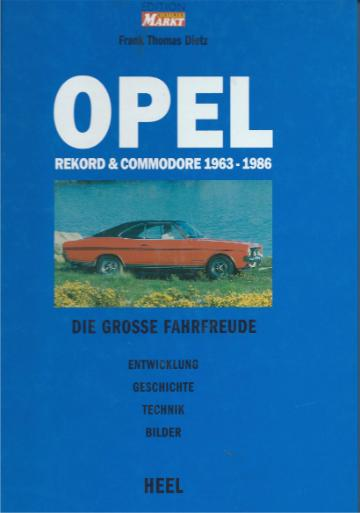 OPEL . Rekord & Commodore 1963 - 1986