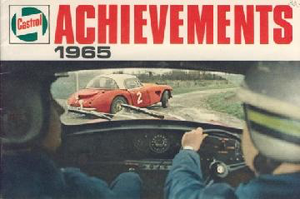 Achievements 1965