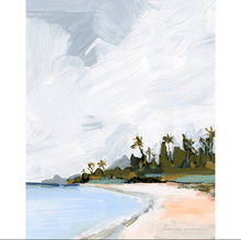 Load image into Gallery viewer, Palm Island Vertical Canvas Print