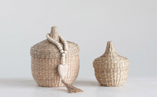 Load image into Gallery viewer, Seagrass Baskets with lids