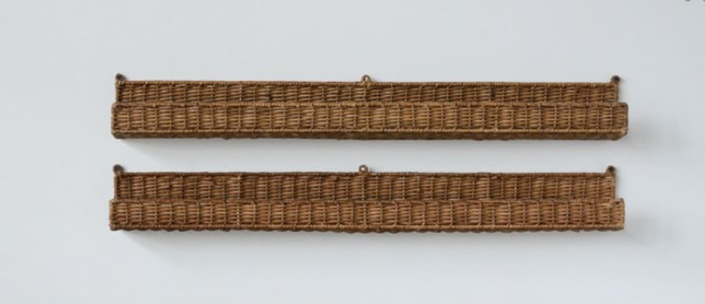 Rattan Wall Ledge - Small