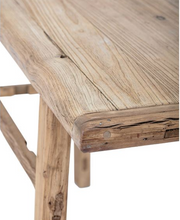 Load image into Gallery viewer, Reclaimed Elm Console Table