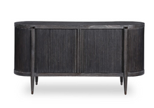 Load image into Gallery viewer, Black Cerused Credenza