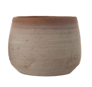 Terra-Cotta Planter - Whitewashed