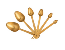 Load image into Gallery viewer, Measuring Spoons - Gold