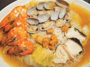SEAFOOD WHITE BEEHOON - SG FOOD DELIVERY