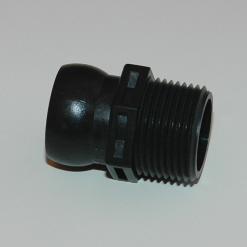 Loc-Line 3/4 Inch Ball Socket x MPT Connector