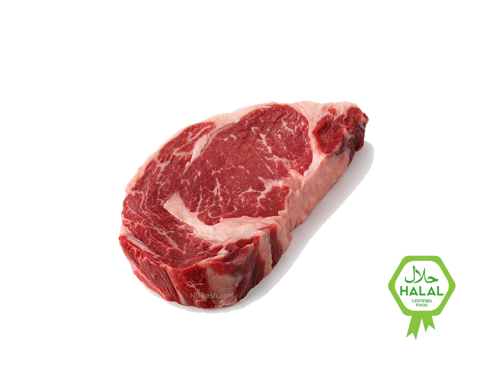 ND Fresh Halal Rib Eye Steak toronto , AAA DELIVERY  meat oshawa ajax pickering  vaughan north york hamilton burlington barrie