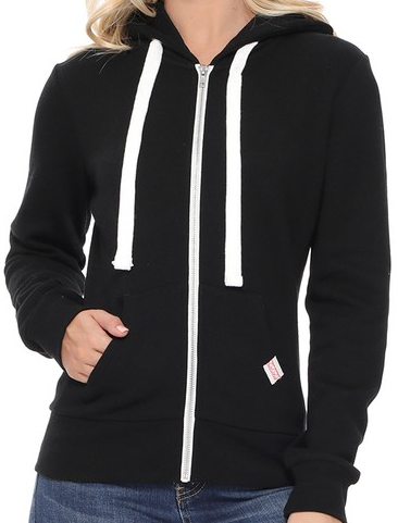 CLASSIC ZIP UP HOODIE JACKET