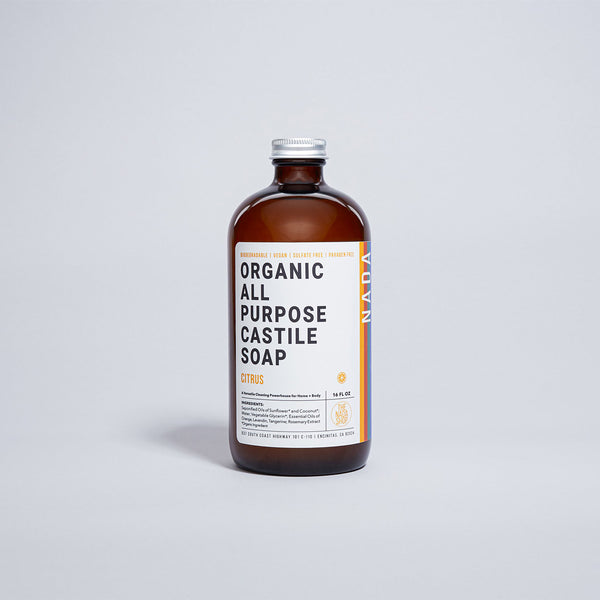 organic all purpose castile soap citrus