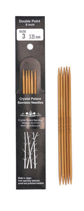 Crystal Palace Bamboo Double Pointed Needles