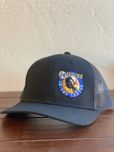 24 Hours Black Trucker Hat