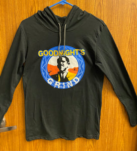 Goodnight's Grind Long Sleeve Hoodie T-Shirt