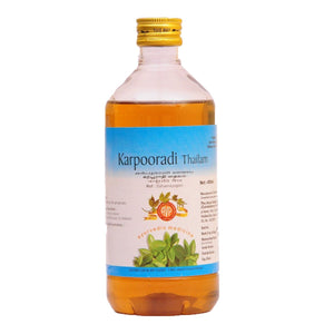 AVP Coimbatore - Karpooradi Thailam  (200 ml Pet Bottle)