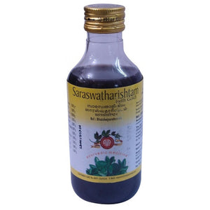 AVP Coimbatore - Saraswatharishtam With Gold  (200 ml Pet Bottle)