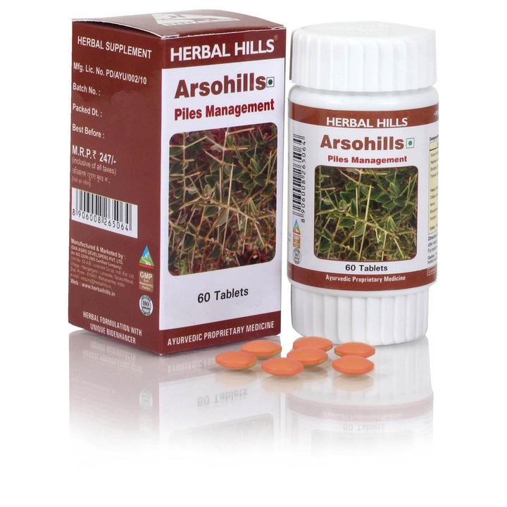 Herbal Hills Arsohills 60 Tablets