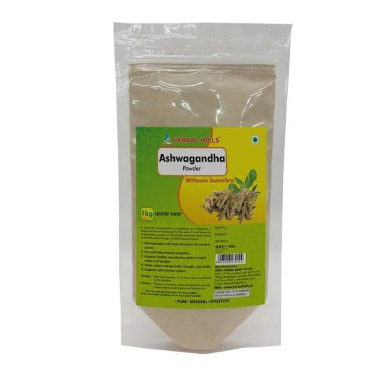 Herbal Hills Ashwagandha Powder 1 kg powder