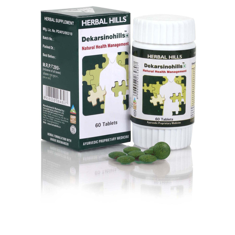 Herbal Hills Dekarsinohills 60 Tablets