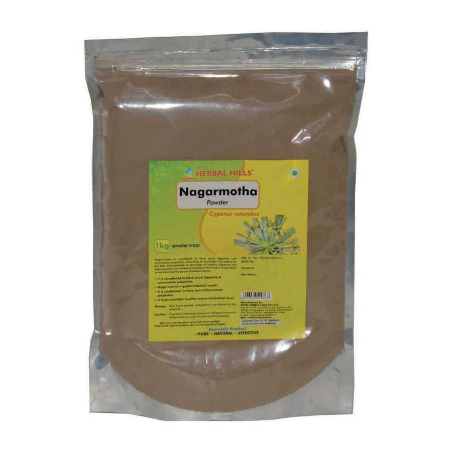 Herbal Hills Nagarmotha powder 1 kg powder