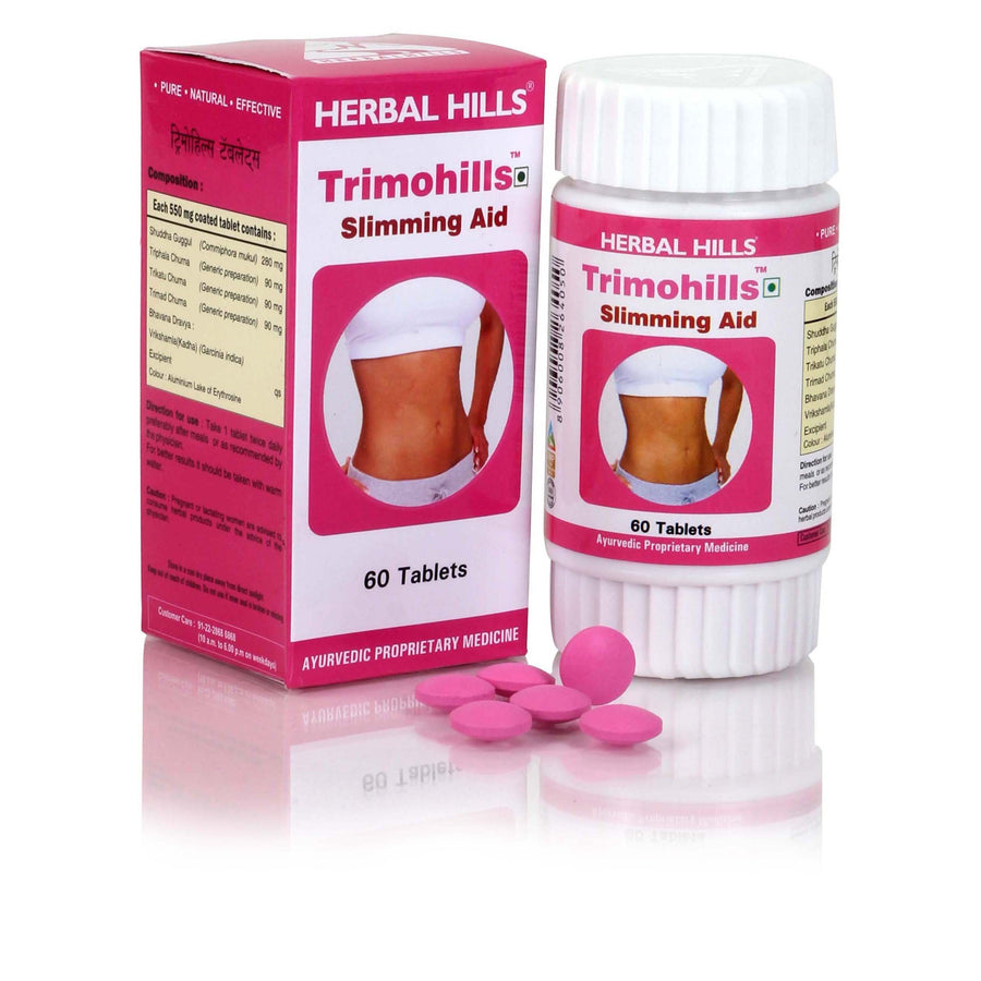 Herbal Hills Trimohills 60 Tablets