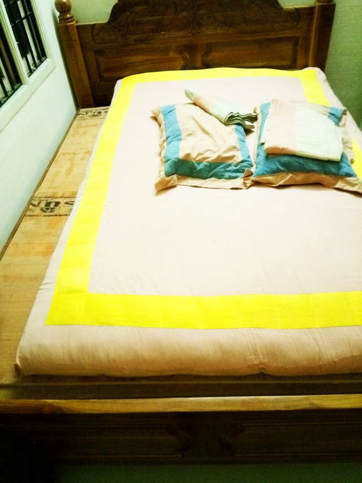 Ayurveda Bed Sheets and Pillow Covers