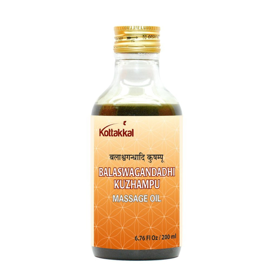 AVS Kottakkal - Balaswagandhadi Kuzhampu (200 ml pet bottle)