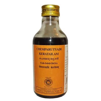 AVS Kottakkal - Chemparuthyadi Kera Tailam (200 ml pet bottle)
