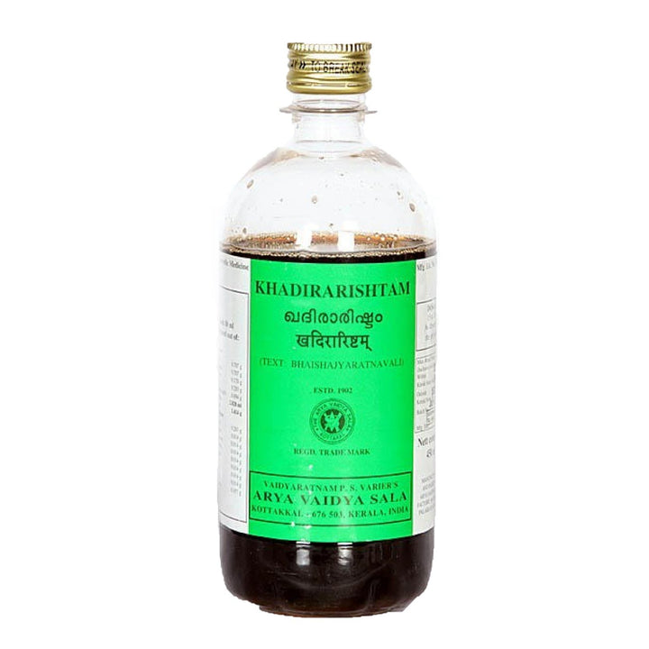 AVS Kottakkal - Khadirarishtam (450 ml pet bottle)