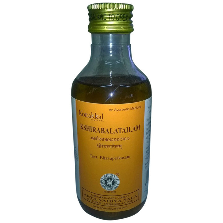 AVS Kottakkal - Kshirabala Tailam (200 ml pet bottle)
