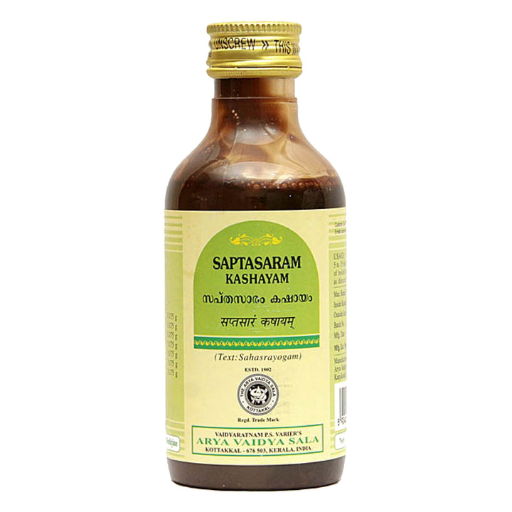 AVS Kottakkal - Saptasaram Kashayam (200 ml pet bottle)