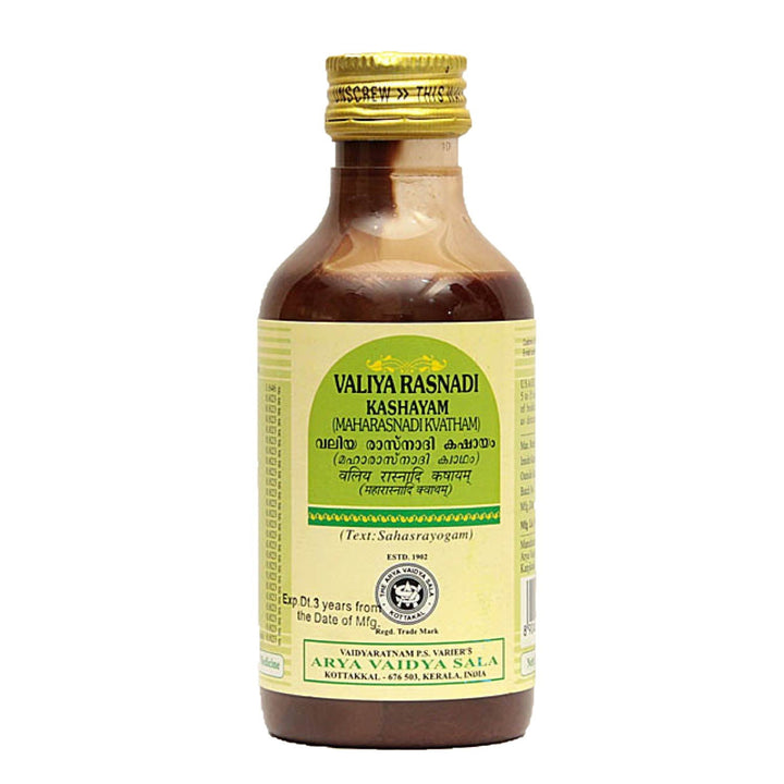 AVS Kottakkal - Valiya Rasnadi Kashayam (200 ml pet bottle)