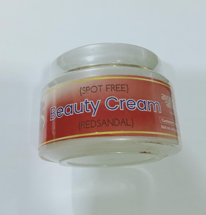 Red Sandal Cream - Spot Free Skin Beauty Cream 50 gms