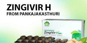 ZingiVir-H Herbomineral Tablets from PankajaKasturi