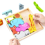 Animals Clever Puzzle Board