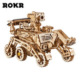 Rokr Solar Energy Space Hunting Assembly Vehicles