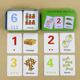 Baby Toys Montessori Cognitive Pair Puzzle Card Toy