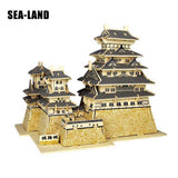 Himeji Castle Japan Architectural Wooden Construction Kit For Kids And Adults
