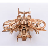 189pcs High-precision Laser Cut Rotor Wing Airplane