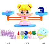 Math/Match Game  Balancing Scale Toy to Learn Addition Subtraction and Comparing