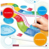 Kids Spirograph Drawing Track 22 PCS.