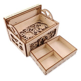 DIY Treasure/Jewellery Box Laser Cut Assembly Kit