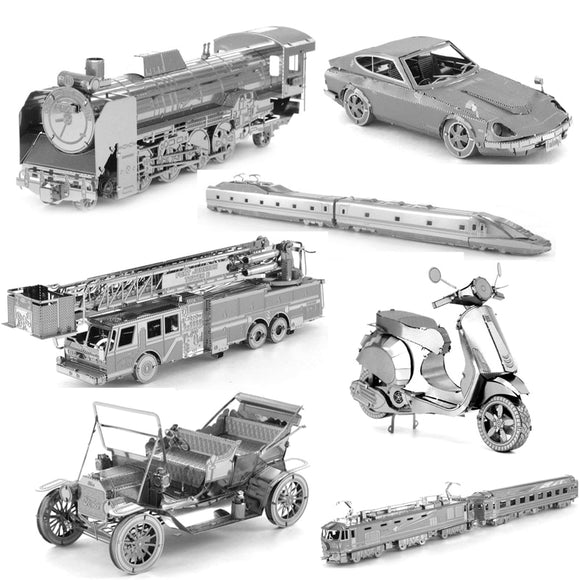 Transportation 3D Metal Assembly kits