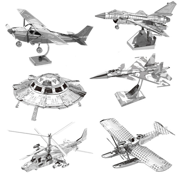 Aircraft 3D Metal Model kits