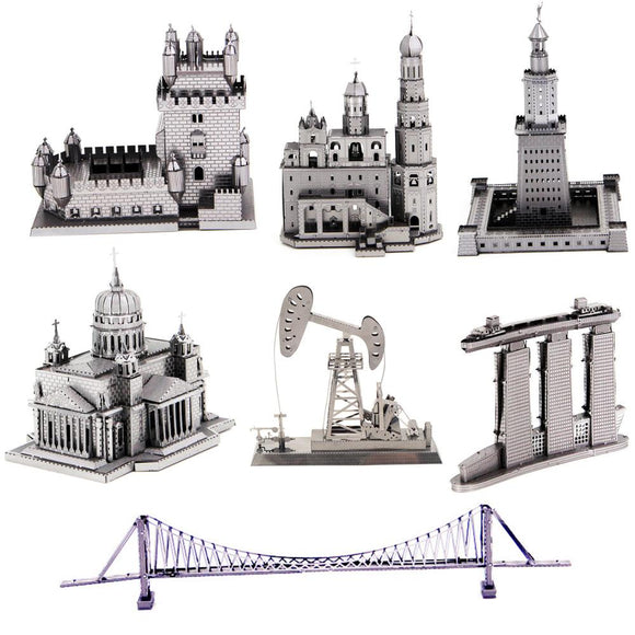 Famous Structures Assembly Kits