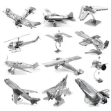 3D  Aircraft metal Model Kits