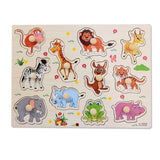 Peg Puzzle Cartoon Objects Assorted
