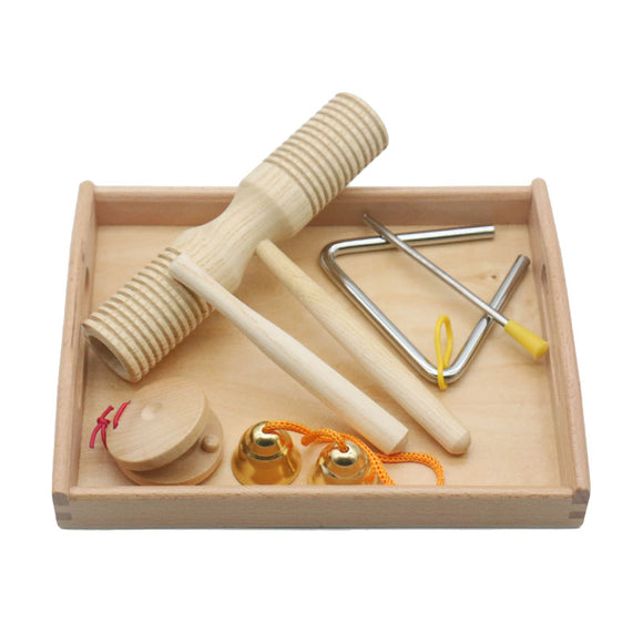 Wooden Montessori Instrument Set